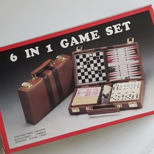 Other - 6 in 1 Travel Magnetic Game Set in Case